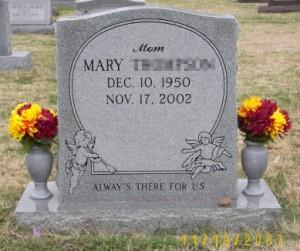 Apostrophe Tombstone