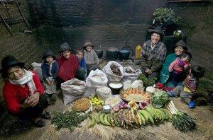 A Week of Food - Ecuador