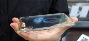 Duluth, GA-based global systems integrations firm Polytron - transparent cell phone