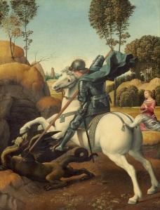 Raphael - Saint George and the Dragon