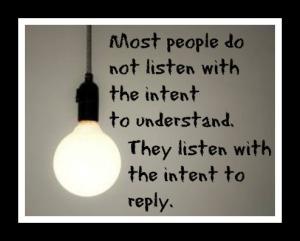 Listen, Respond