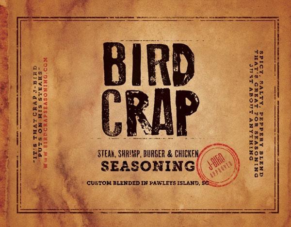 LIT - Bird Crap Seasoning Label