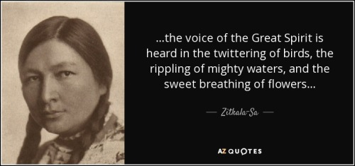 Zitkala-Ša quote