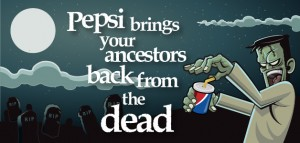 LIT - Pepsi, Chinese of Come Alive with the Pepsi Generation, 1963