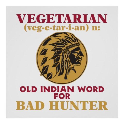 Vegetarian, Bad Hunter