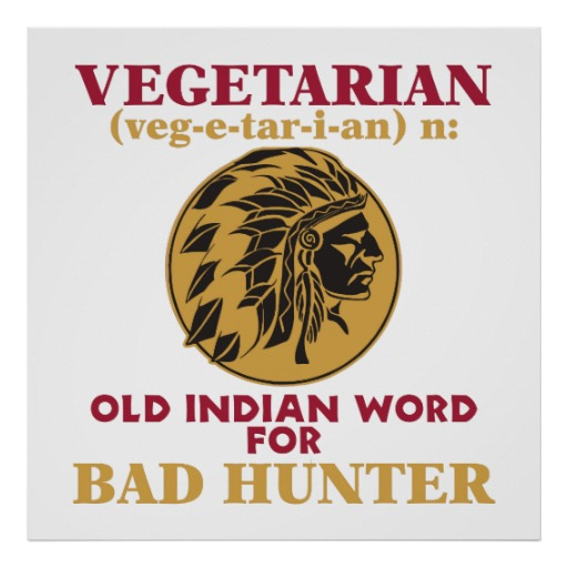 Vegetarian, Bad Hunter