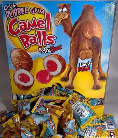 LIT - Camel Balls Gum