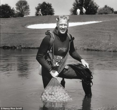 Odd Job - Golf Ball Diver, Nancy Rica Schiff