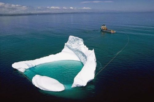 Odd Job - Iceberg Mover