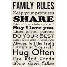family-rule-sign