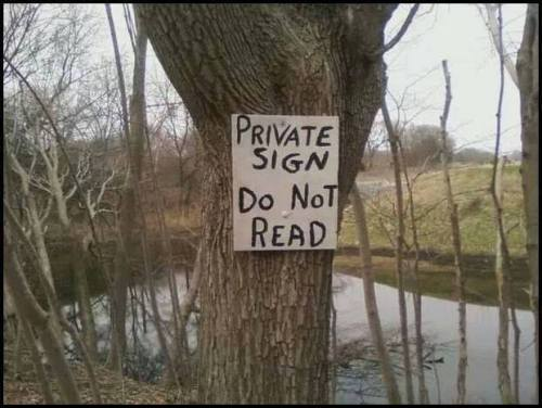 private-sign