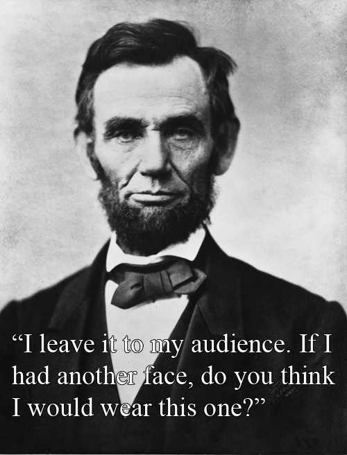 witty-comebacks-abraham-lincoln-vs-stephan-douglas-after-douglas-called-him-two-faced-during-a-debate