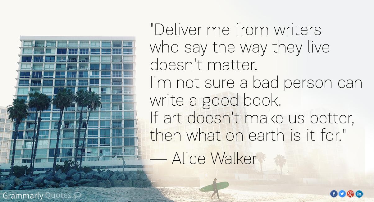 Alice Walker - Writers' Lives