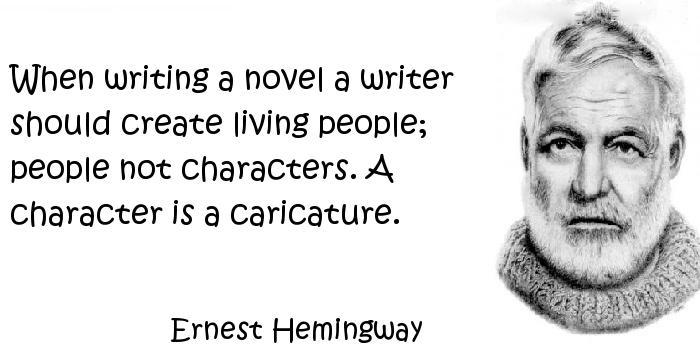 Ernest Hemingway - Characters