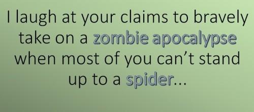 Zombie vs Spider