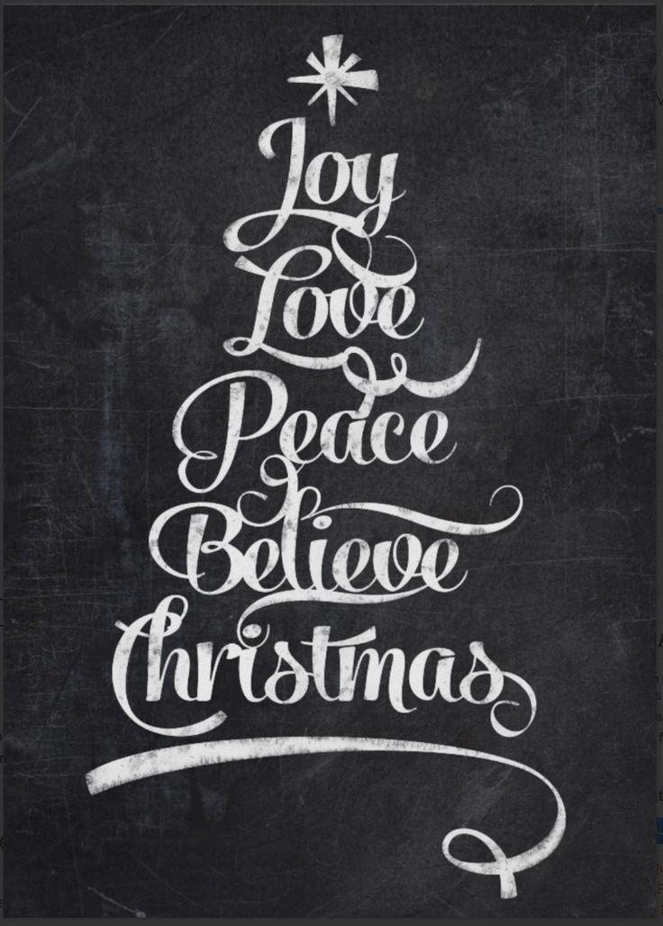 Chalkboard - Christmas 1