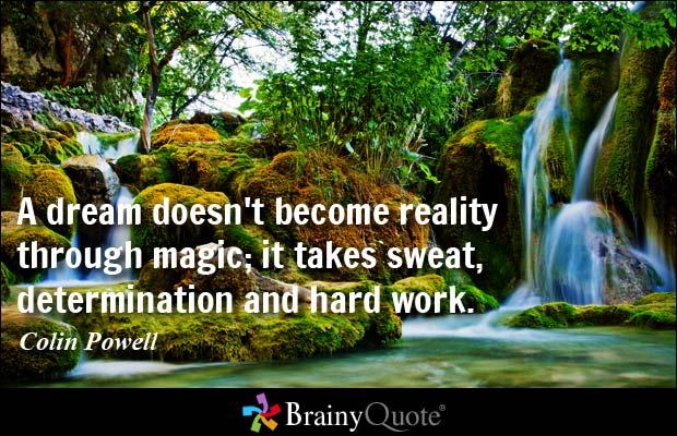 Colin Powell - Dream, Determination, Hard Work