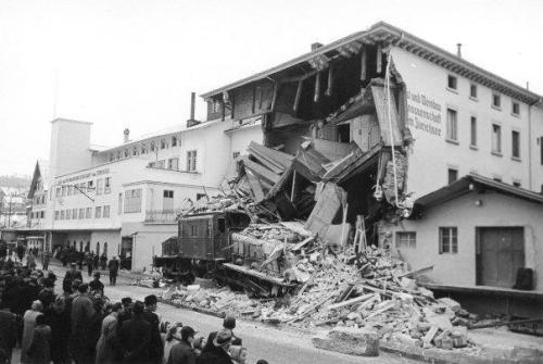 1948 Zugunglück Wädenswil-Einsiedeln - 22 Februar 1948, 22 Starb - waedenswil.ch
