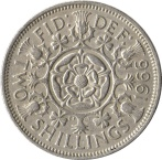 1 Shillings reverse
