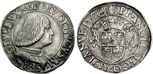 Duke of Milan's Testone