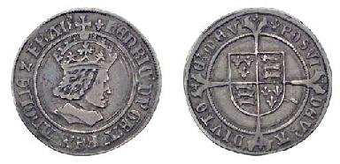 Henry VII Testoon