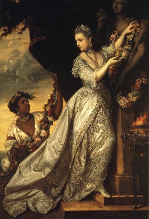1761 Joshua Reynolds. Lady Elizabeth Keppel