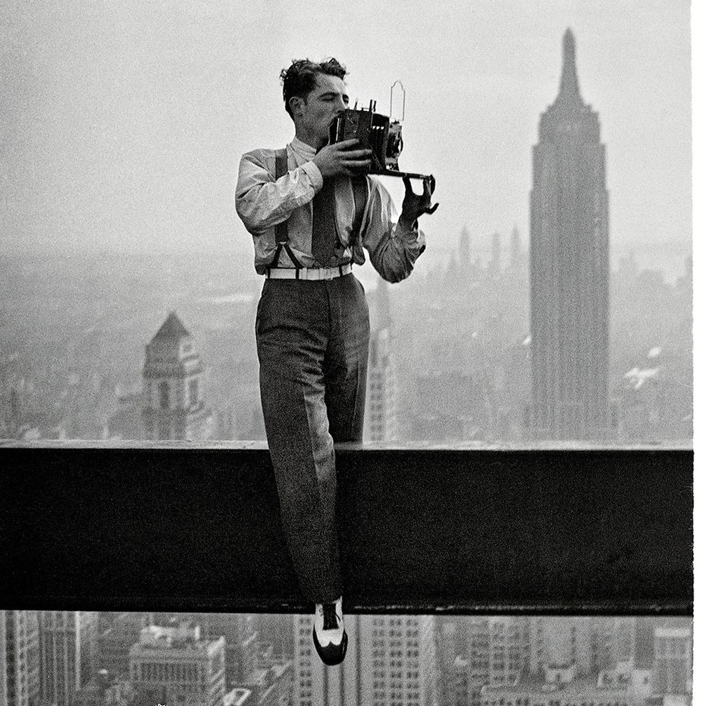 Charles C Ebbets, Photographer of Skyscraper images in the 1930s