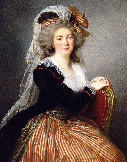 Genevieve-Sophie le Coulteux du Molay, 1788 by Elisabeth Louise Vigee Le Brun