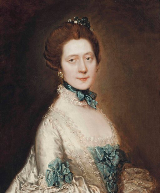 Thomas Gainsborough, 1727-1788 London, Portrait of Lady Anne Furye, née Greenly - born 1738