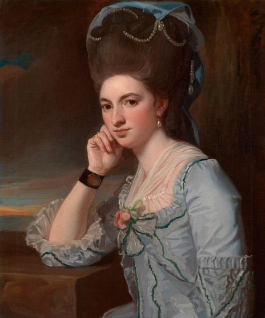 Young Woman in Powder Blue, ca. 1777