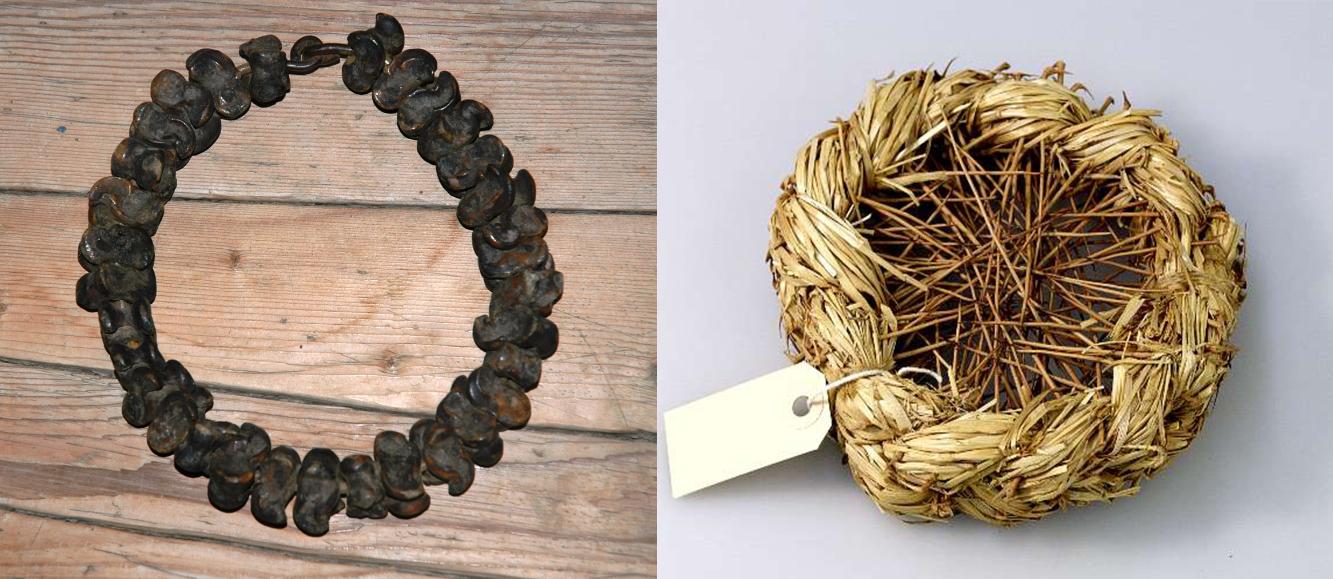 two unusual yeast wreaths