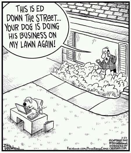 euphemism - Dog, Doing Business